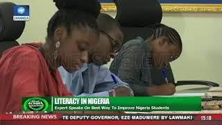 Expert Speaks On Best Way To Improve Literacy In Nigeria