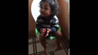 Potty Time with Oasis
