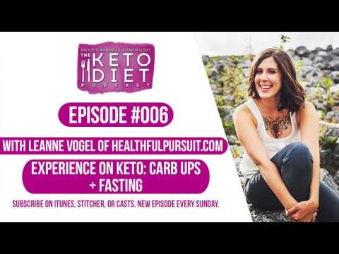 #006 The Keto Diet Podcast: Experience on Keto: Carb Ups + Fasting