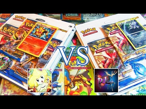 Ouverture de 6 tripacks Pokémon XY9 Rupture Turbo - David Lafarge VS MissJirachi BOOSTERS TURBO