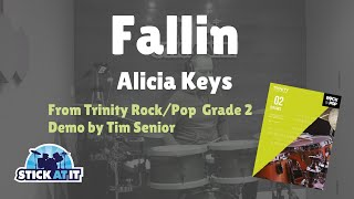 Fallin | Alicia Keys | Trinity Rock/Pop | Grade 2 | Drums