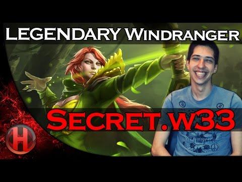 Secret.w33 LEGENDARY Windranger vs. Vici Gaming Dota 2