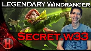 secretw33 legendary windranger vs vici gaming dota 2