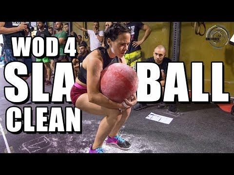 Final Liga interna WOD 4: Cómo hacer un Slam Ball Clean