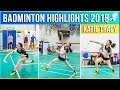 🏆Katie Tracy BADMINTON HIGHLIGHTS 2018 | High School Girls Division Athlete