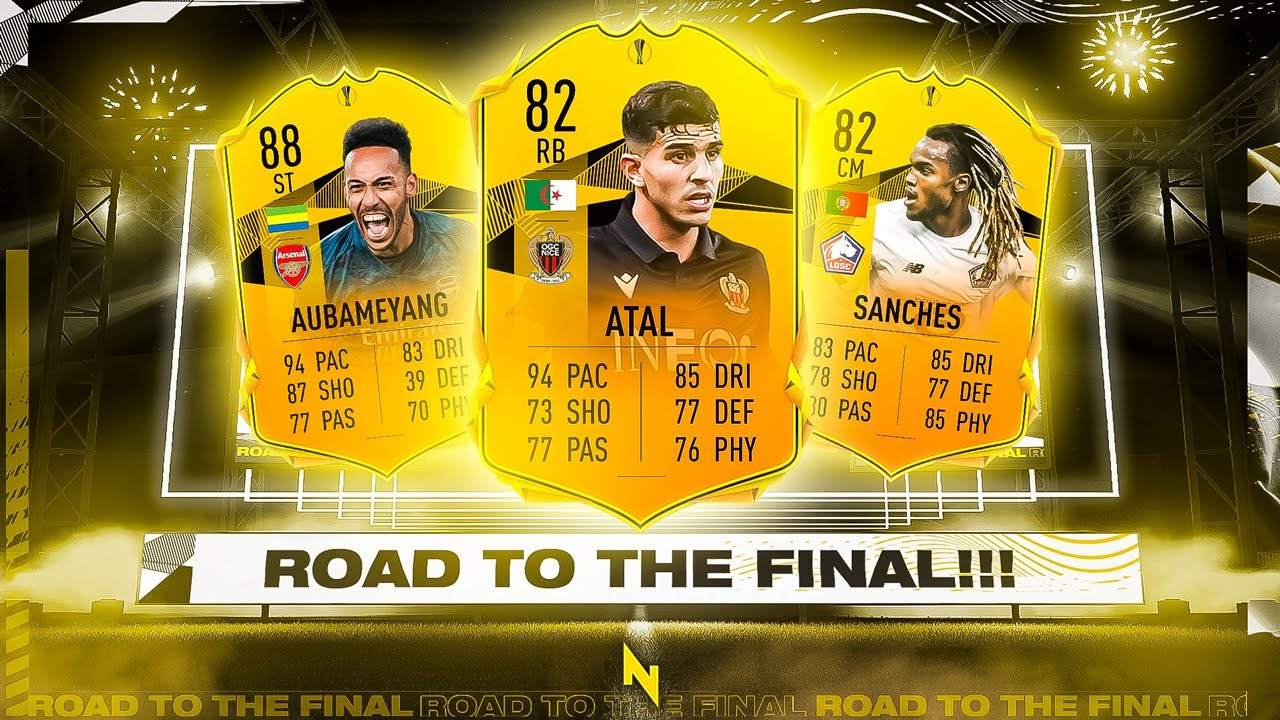 EUROPA LEAGUE ROAD TO THE FINAL CARDS! - FIFA 21 Ultimate Team