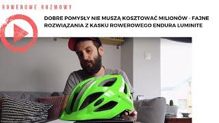 Dobre pomysły nie muszą kosztować milionów - fajne rozwiązania z kasku rowerowego Endura Luminite