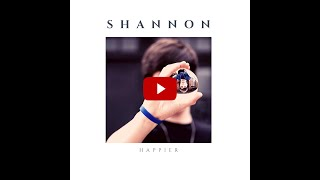 Happier, by Shannon, preview, single releases 6/30/2020. Top pop 2020.  4K
