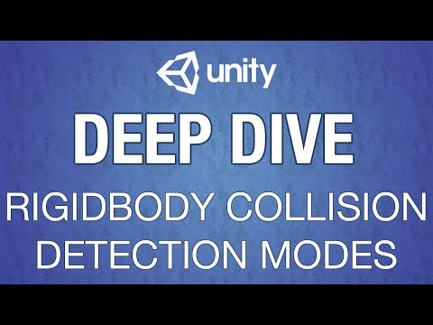 Unity Rigidbody Collision Detection Modes - YouTube