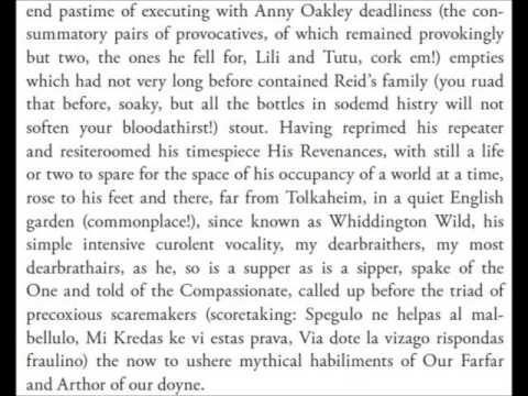 James Joyce || Finnegans Wake Book I Chapter 3 [audiobook]
