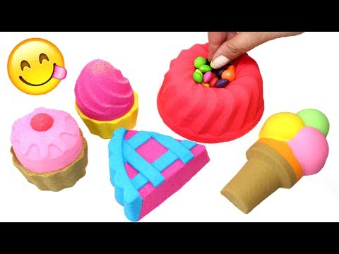 Thumbnail: DIY Kinetic Sand Cake Ice Cream Cupcakes Bakery Desserts How to Make Kinetic Sand Foods for Kids