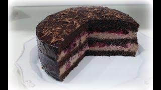 рецепты домашней кухни как приготовить шоколадно вишневый торт рецепт от Валентины