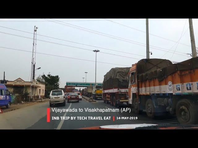 Vijayawada to Visakhapatnam & Stay in Taj Gateway Hotel, INB Trip EP #6