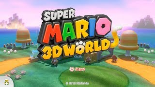 Wii U Longplay - Suṗer Mario 3D World