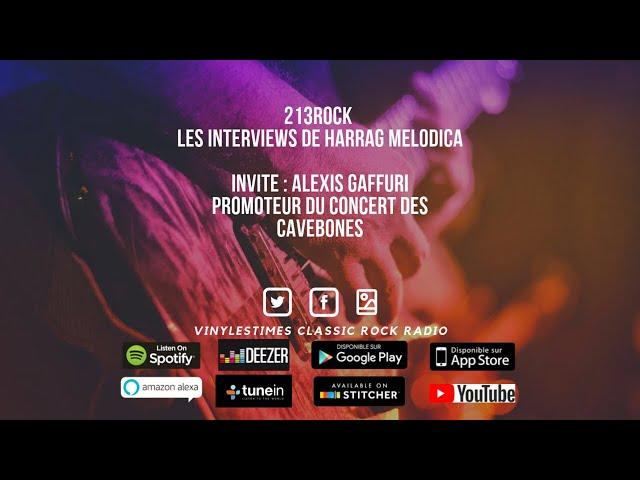 213Rock Harrag Melodica Interview d'Alexis Gaffuri