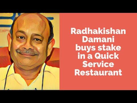 Radhakishan Damani buys stake in a Quick Service Restaurant Company