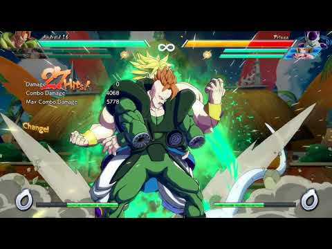 """Bro"" NEW DBFZ Broly/Android 16 DHC Synergy"