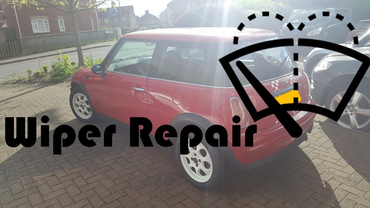 Rear Wiper Repair Youtube