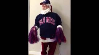 Hotty Toddy Santa
