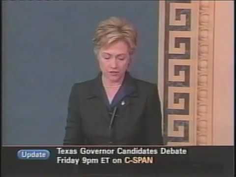 Hillary CLINTON Iraq War Speech 2002 Part 1