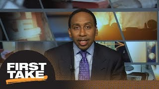 Stephen A. Smith agrees with Charles Barkley: Game 1 is a must-win for Rockets   First Take   ESPN