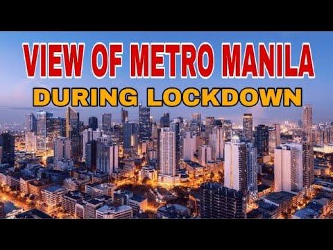 METRO MANILA DURING LOCKDOWN (2020) | CLEAN AIR | CLEAR VIEW