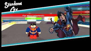 Roblox Super Heroes Factory (Super Hero Tycoon!) Superman