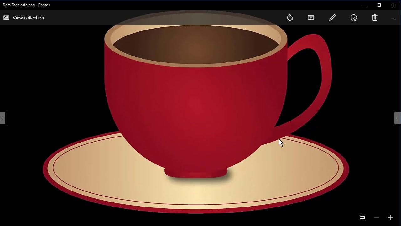 Bài 4. Vẽ tách cafe 3D bằng phần mềm Adobe Illustrator