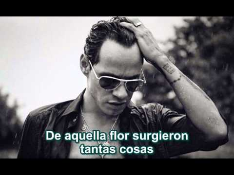 Marc Anthony Flor Palida Lyrics Letras Youtube