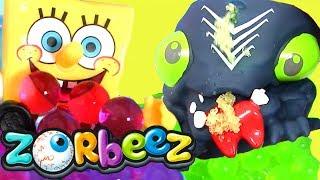 Орбиз шарики # Monster Orbeez Видео для детей #Губка Боб! Игры для детей