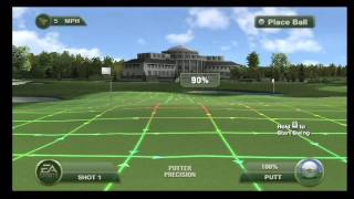 Tiger Woods PGA TOUR 12: The Masters, Wii - Practice Facility
