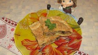Пирог с картошкой и грибами - простой рецепт вкусного пирога.