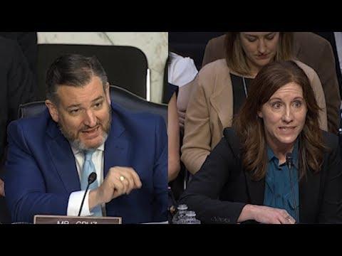 Preguntas del senador Ted Cruz a una Ejecutiva de Google por escandalo del sesgo político del buscador.