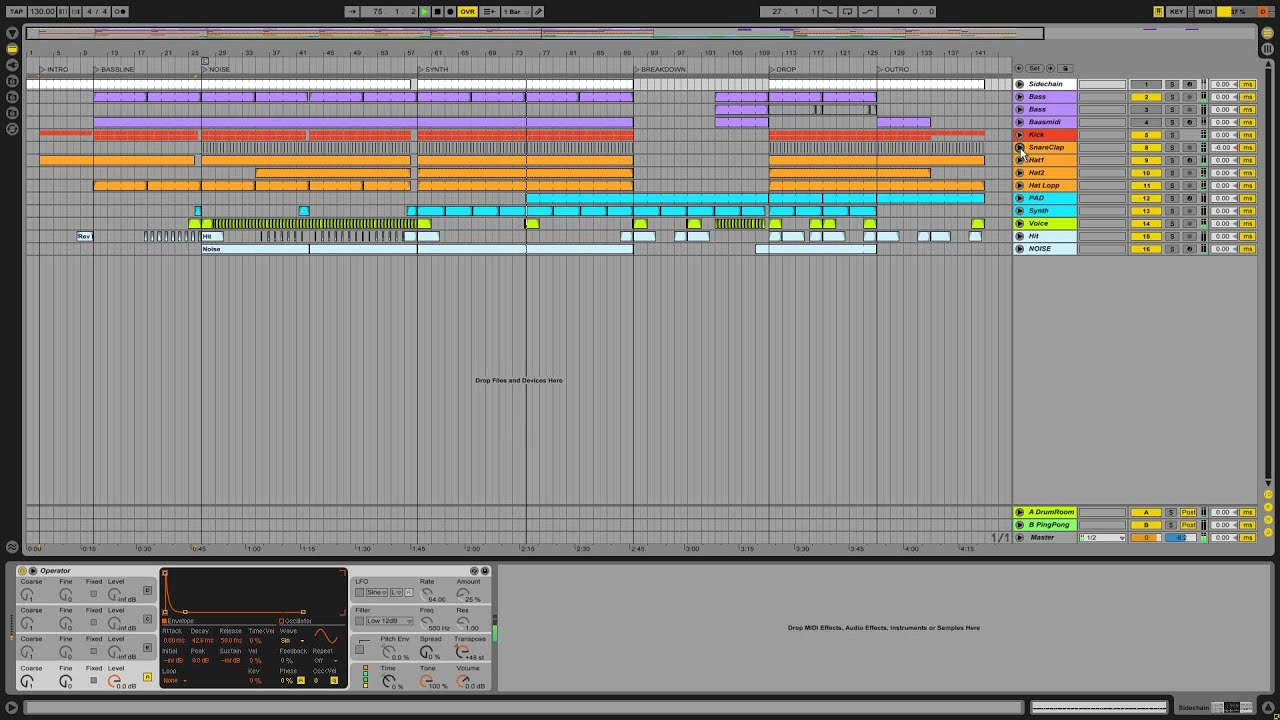 EDM Templates: FREE Ableton Project - YouTube