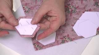 Patchwork : Le jardin de grand-mère - L'Atelier Edisaxe