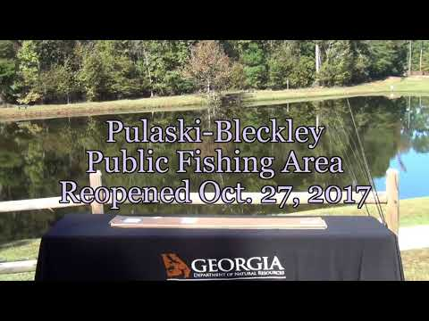 Ocmulgee  Public Fishing Area ReOpens