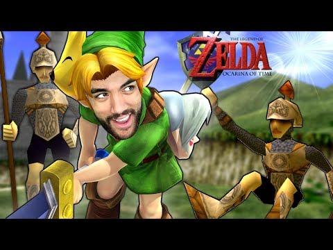 I BROKE INTO HYRULE! Meeting Zelda! Legend of Zelda: Ocarina of Time
