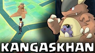 Catching 2 x Kangaskhan in Pokemon GO + 10km Egg Hatching