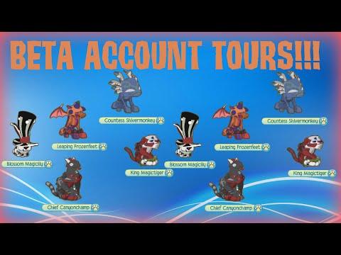 ANIMAL JAM: BETA ACCOUNT TOURS!!!