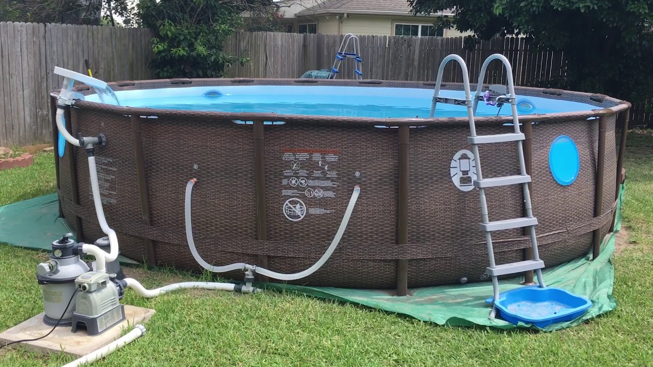 Coleman Above Ground Pool Instructions Round Designs