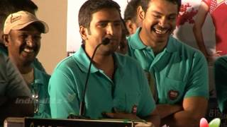 Santhanam shares his working experience with power star | Kanna Laddu Thinna Aasaiya | Audio Launch