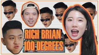 "[REAKSI] JEESUN ORANG KOREA""Rich Brian - 100 Degrees"" [SUB : IDN, KOR]"