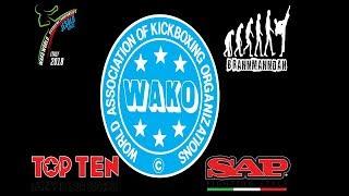 Ring 1,3 Thursday WAKO World Championships 2018