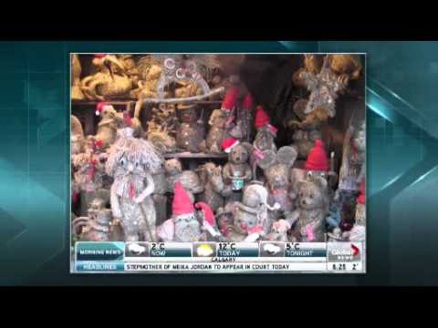 The Travel Lady on Global Calgary 10/09/12