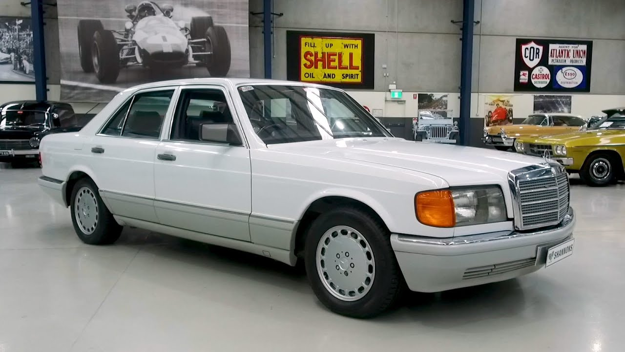 1991 Mercedes-Benz 300SE Saloon - 2020 Shannons Winter Timed Online Auction