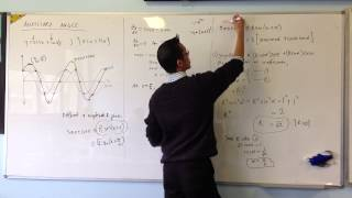 Determining Wave Functions w/ Trig Expansions