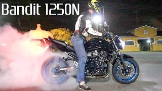 Suzuki Bandit 1250N STRAIGHT PIPE EXHAUST! - BIKERS GARAGE #10