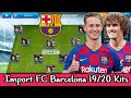 How To Create Latest FC Barcelona Team in Dream League Soccer | Import FC Barcelona 19/20 Kits DLS19