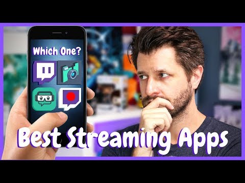 Best Free Mobile Streaming Apps For Twitch, YouTube & Beyond!