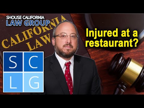 Injured at a restaurant? How to file a lawsuit